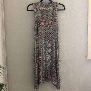 Maeve high neck flowy dress